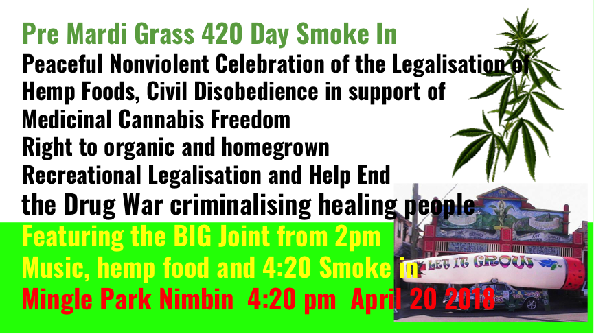 Nimbin's 420 Smoke-In!