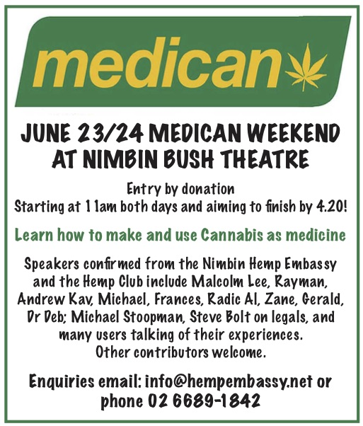 MEDICAN WEEKEND WORKSHOP June 23/24 2018