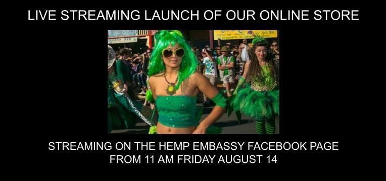 Nimbin Hemp Embassy's New Online Store